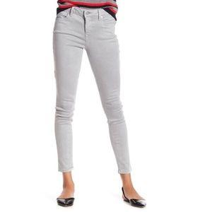 LEVEL 99 Gray Stretch Skinny Jeans Size 32 12 NWOT